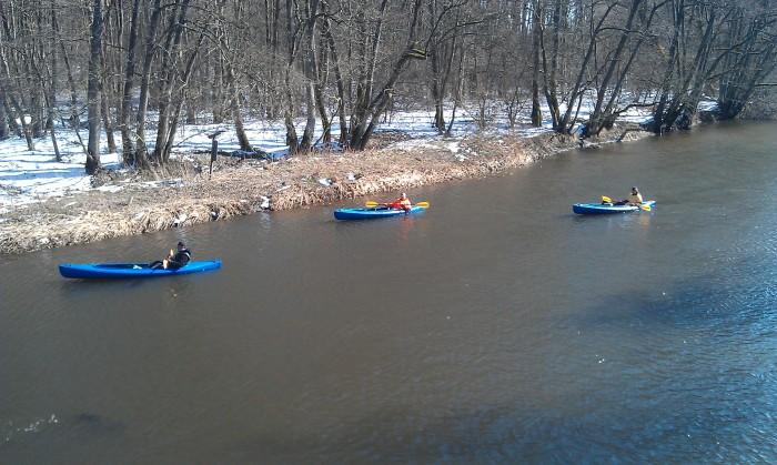 Spływ Kajakowy - Pożegnanie Zimy (12)