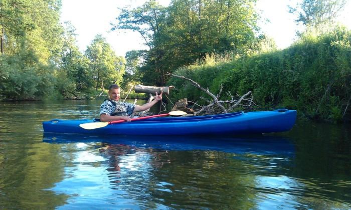 12. Spływ kajakiem. Rzeka Parsęta od Bard