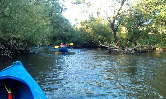 13. Spływ kajakiem. Rzeka Parsęta od Dobla
