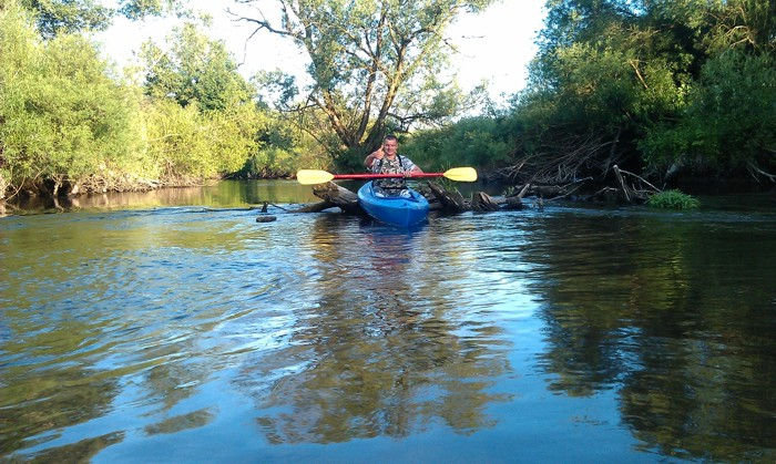 14. Spływ kajakiem. Rzeka Parsęta od Krosina