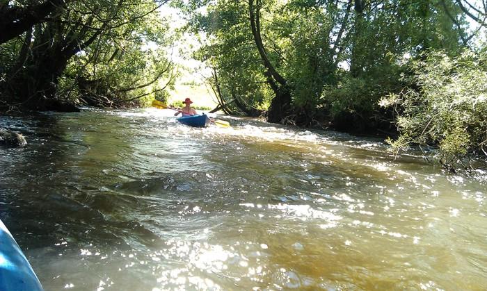 18. Kajaki. Rzeka Parsęta od Rogowa
