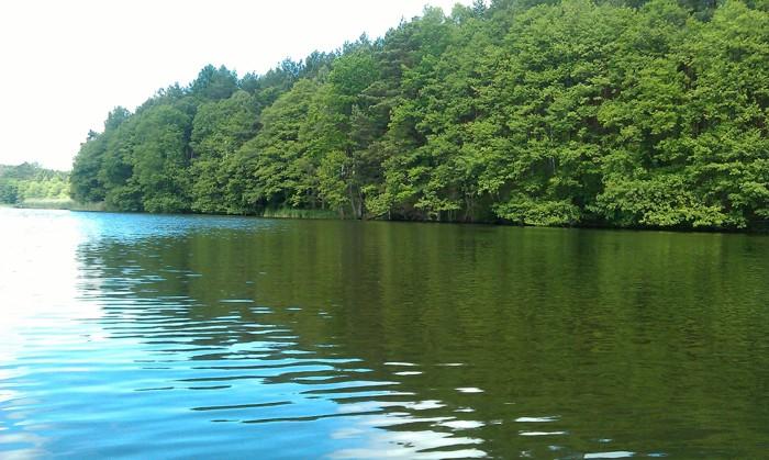 23. Kajaki. Jezioro Rosnowo