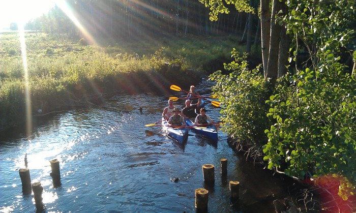 3. Spływ kajakiem. Rzeka Liśnica