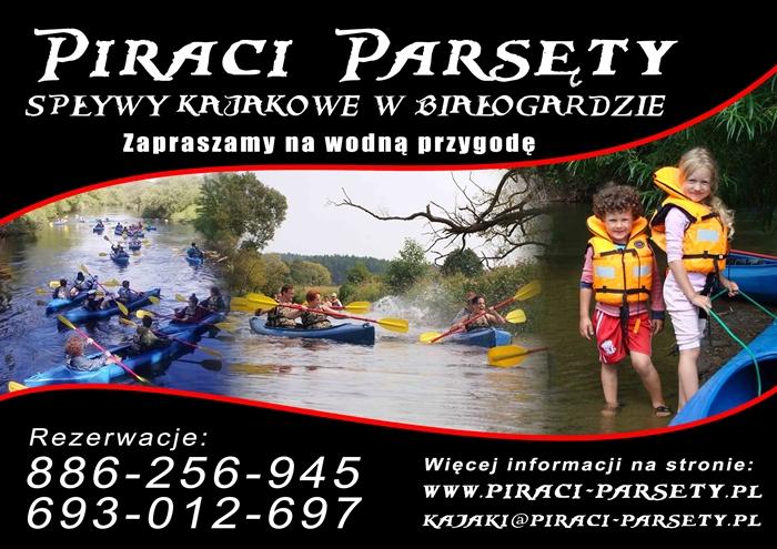 ZAPRASZAMY www.piraci-parsety.pl